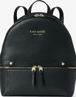 The Day Pack Medium Backpack - Black - One