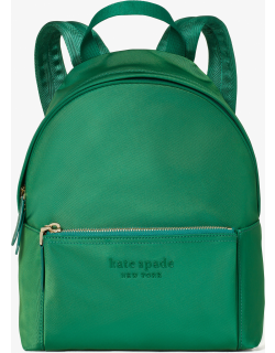 The Nylon City Pack Medium Backpack - Forest Night - One