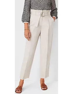 Ann Taylor The Belted Paperbag Ankle Pant