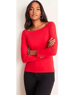 Ann Taylor Refined Off The Shoulder Top