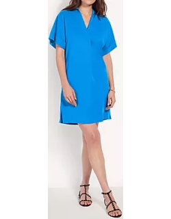 Ann Taylor Collared Popover Shift Dress