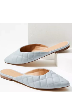 Loft Quilted Mules
