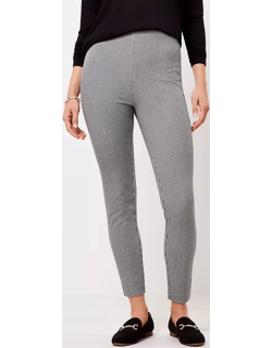 Loft Tall Side Zip Skinny Pants in Puppytooth