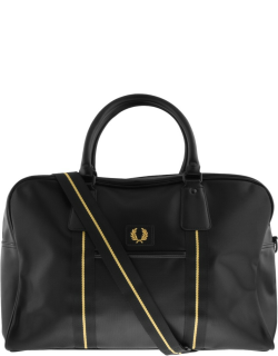 Fred Perry Pique Texture Holdall Bag Black