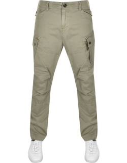 G Star Raw Rovic Straight Tapered Trousers Green
