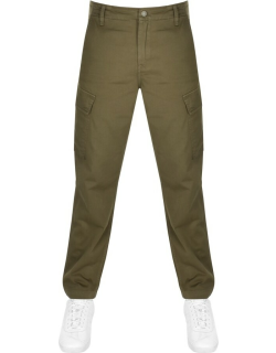 Levis Tapered Cargo Trousers Green