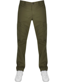 Timberland Twill Straight Cargo Trousers Green