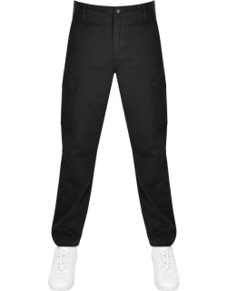 Levis Tapered Cargo Trousers Black