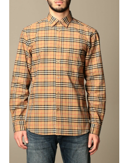 Simpson Burberry shirt in cotton with vintage check pattern
