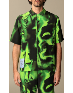Ghost shirt by McQ in printed silk