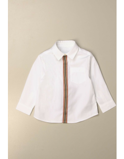 Burberry shirt in cotton poplin with striped pattern