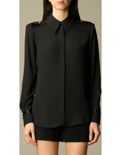 Elisabetta Franchi shirt with tabs and buttons