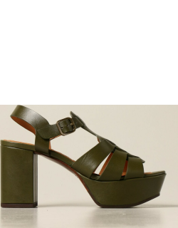 Heeled Sandals CHIE MIHARA Women colour Green
