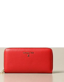 Patrizia Pepe continental wallet in leather with logo