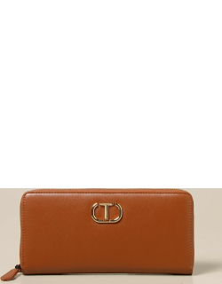 Twinset wallet in synthetic leather