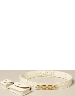 Elisabetta Franchi belt with containers in synthetic leather