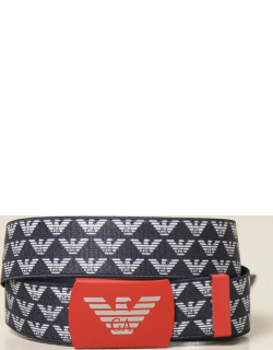 Emporio Armani belt with all over logo