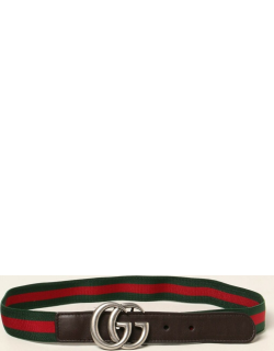 Marmont Gucci belt with elastic