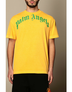 Palm Angels cotton tshirt with logo