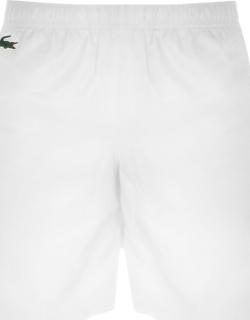 Lacoste Sport Taped Shorts White