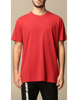 Off White cotton tshirt with back logo