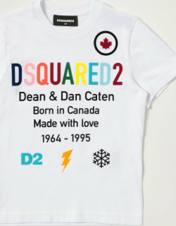 Dsquared2 Junior Tshirt in cotton with logo