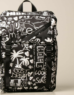 Golden Goose backpack in printed canvas
