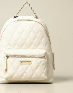 Twinset backpack in synthetic leather with logo