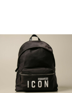 Icon Dsquared2 backpack in nylon with logo