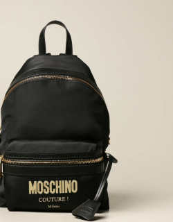 Moschino Couture backpack in canvas with logo