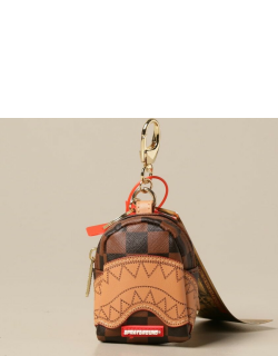 Sprayground micro backpack in vegan leather with shark mouth