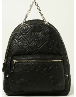 Liu Jo backpack in synthetic leather with embossed logo