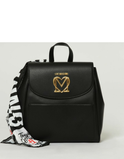 Love Moschino backpack in synthetic leather with logo
