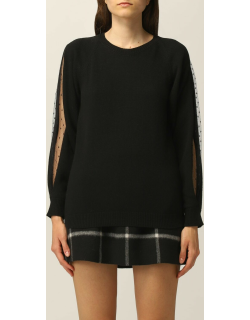 Red Valentino jumper in wool and cashmere blend