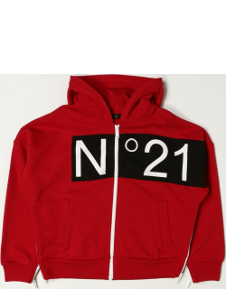 N ° 21 hooded jumper in cotton
