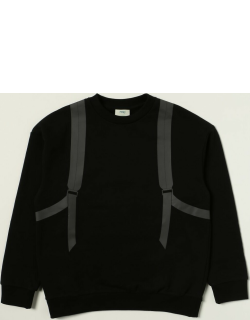 Fendi cotton jumper with FF backpack print