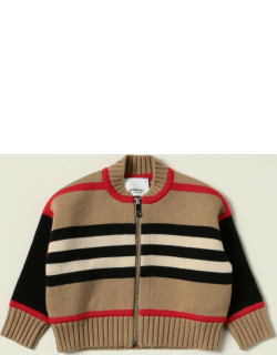 Burberry cardigan in striped wool blend
