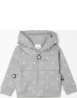 Burberry hooded jumper with TB monogram
