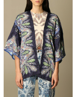 Etro scarf cardigan in paisley patterned silk
