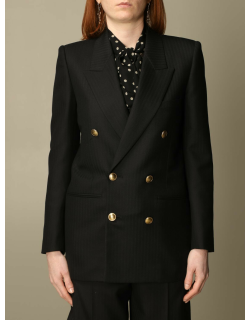 Saint Laurent doublebreasted pinstriped jacket