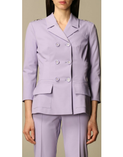 Elisabetta Franchi doublebreasted jacket in technical fabric