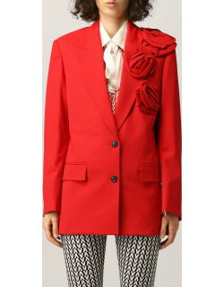 Valentino singlebreasted jacket in Techno Toile with roses