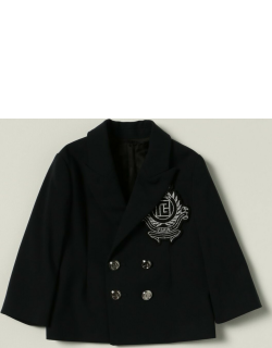 Balmain doublebreasted jacket with crest