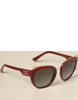 Dolce & Gabbana sunglasses in quilted acetate