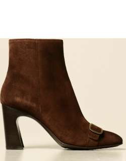 Heeled Ankle Boots TODS Women colour Brown