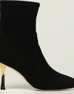 Stuart Weitzman ankle boots in suede