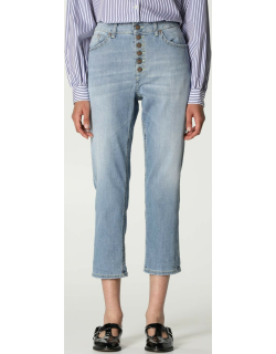 Jeans DONDUP Women colour Gnawed Blue
