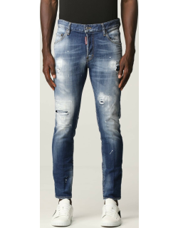 Dsquared2 skinny jeans with rips