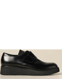 Prada shoes in brushed leather