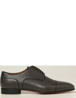 Surcity Christian Louboutin derby shoes in grained leather